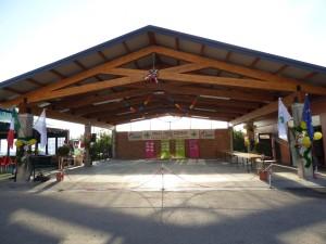 Inaugurazione tettoia
